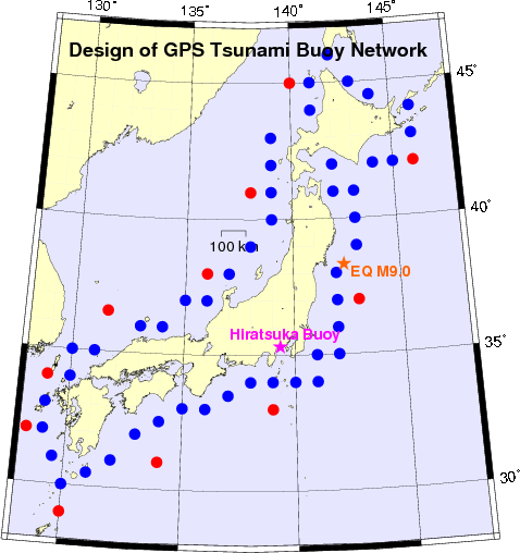 Proposal of GNSS buoy network