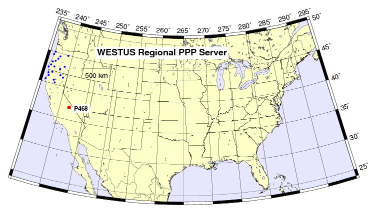 PPP UNAVCO Network