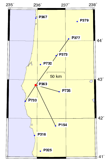 PPP UNAVCO Network WESTUS